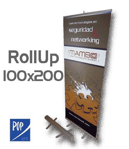 ROLLUP 100X200